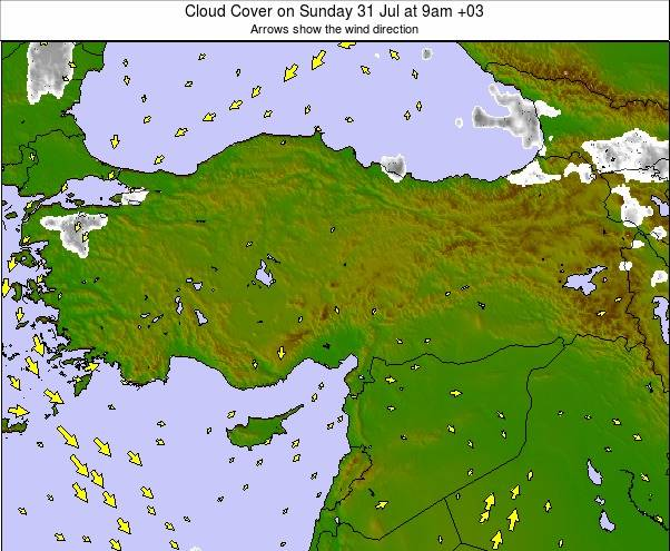 Turkey weather map - click to go back to main thumbnail page
