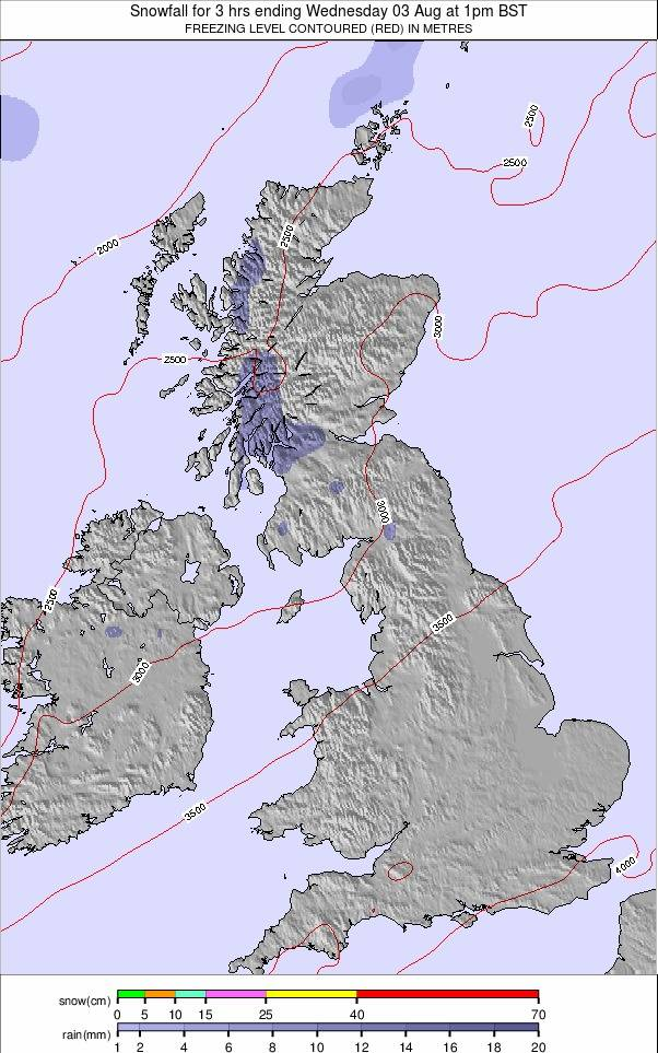 United Kingdom weather map - click to go back to main thumbnail page