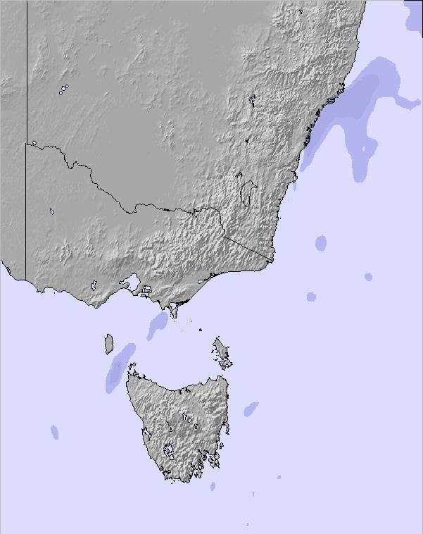 weather map and snow conditions for australia all se
