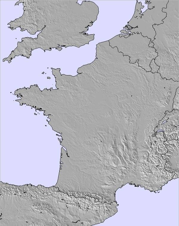 Map Of Provence France With Cities.Weather Map And Snow Conditions For France