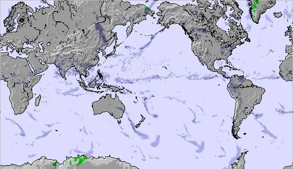 Weather Map And Snow Conditions For Global Pacific View - Global weather map