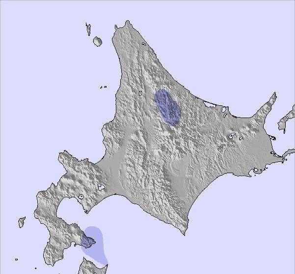 Hokkaido World Map.Weather Map And Snow Conditions For Hokkaido