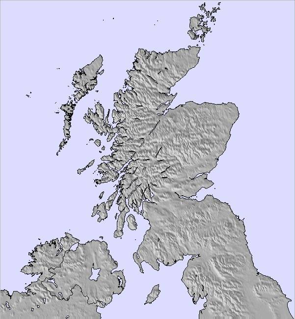 Scotland Weather Map.Weather Map And Snow Conditions For Scotland