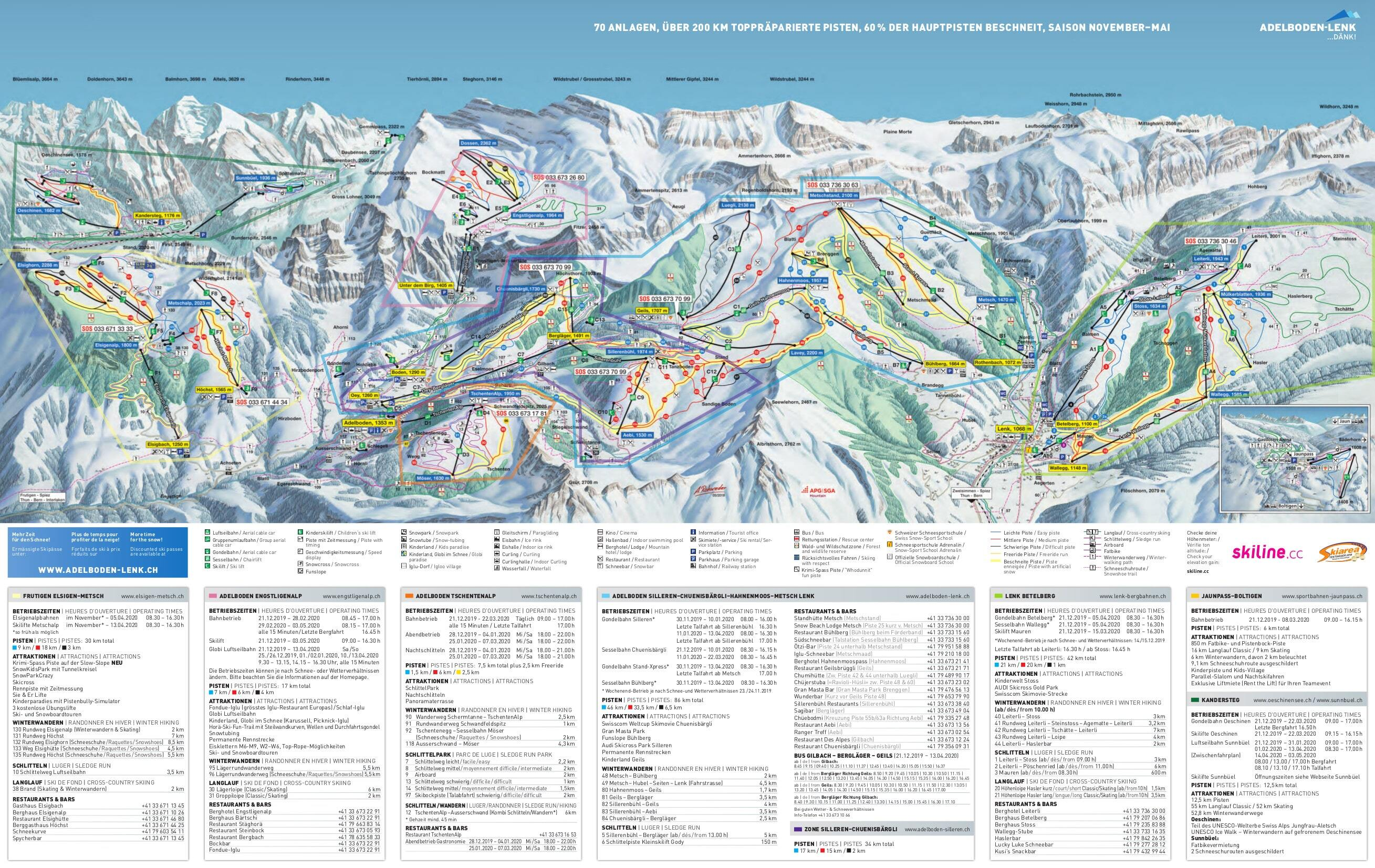 Adelboden Ski Resort Guide Location Map Adelboden ski holiday