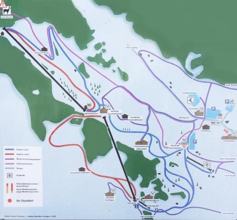 Aeschi Piste / Trail Map