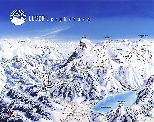 Altaussee Piste / Trail Map