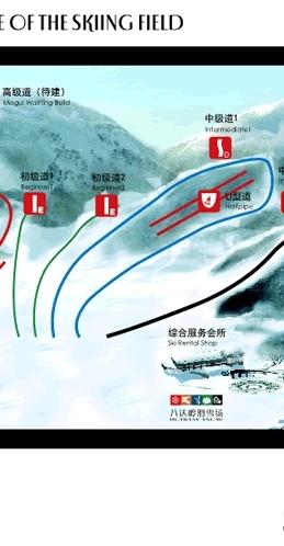 Badaling Piste / Trail Map