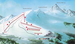 Rucas di Bagnolo Piste / Trail Map