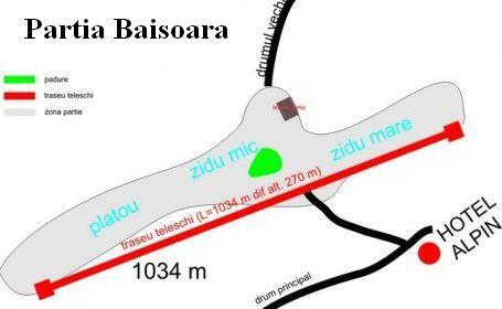 Băişoara Piste / Trail Map