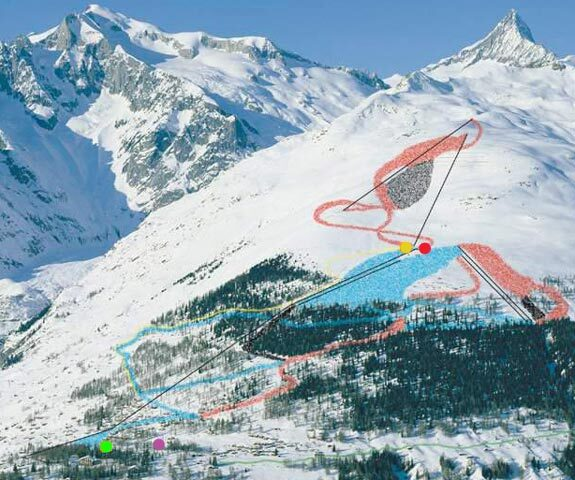 Bellwald / Goms Piste / Trail Map