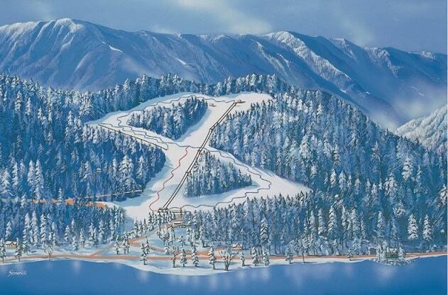 Bled Ski Resort Guide Location Map Bled Ski Holiday