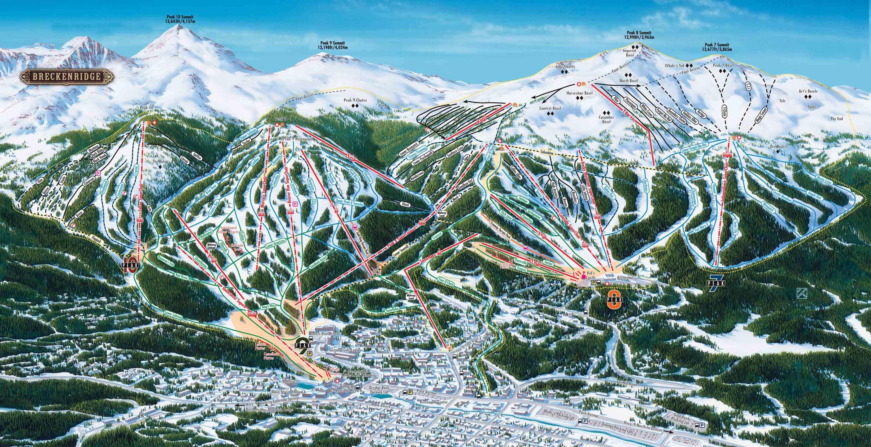 Breckenridge Ski Resort Guide Location Map Amp Breckenridge
