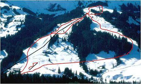 Bumbach / Schangnau Piste / Trail Map