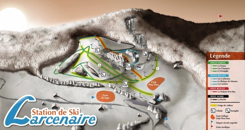Bussang Piste / Trail Map