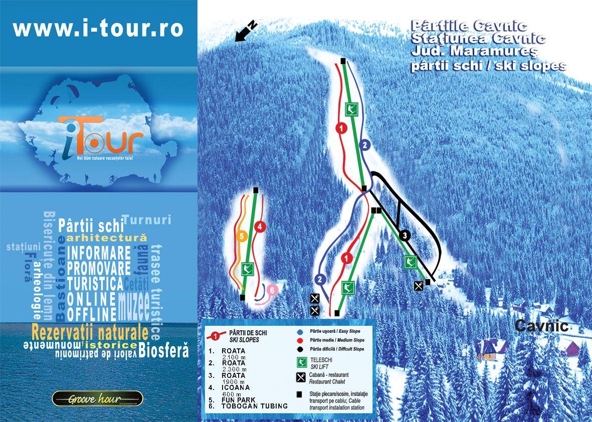 Cavnic Piste / Trail Map