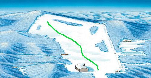 Celjska Koča Piste / Trail Map