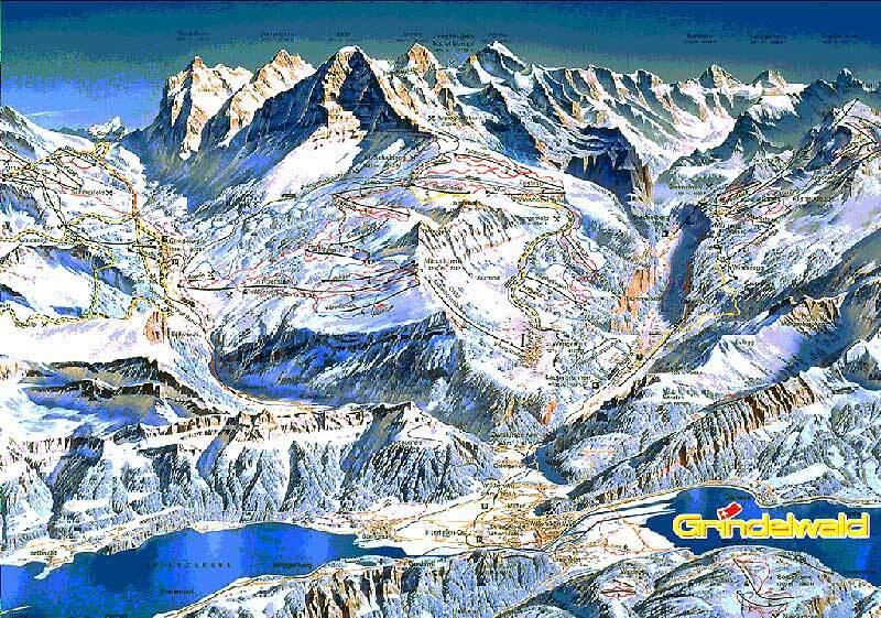 Diemtigtal - Grimmialp Piste / Trail Map
