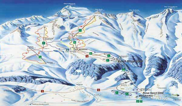 Ebnat-Kappel - Toggenburg Piste / Trail Map