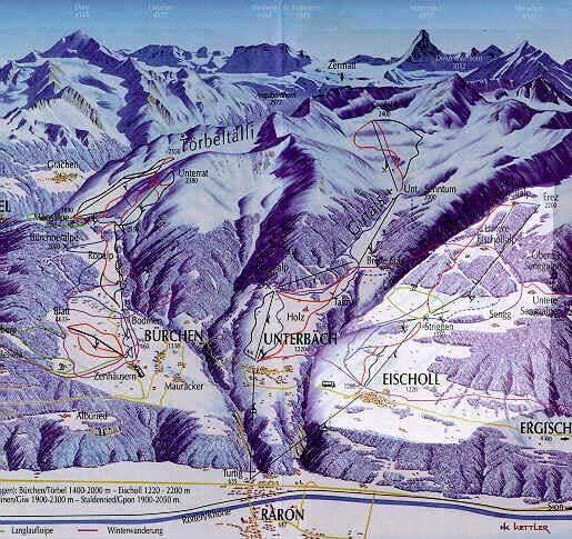Eischoll Piste / Trail Map