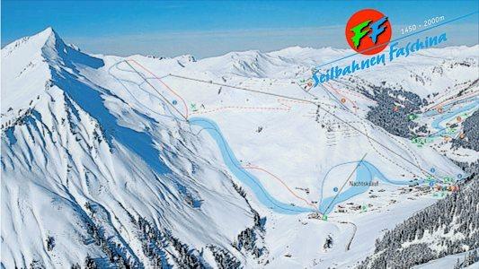 Fontanella-Faschina Piste / Trail Map