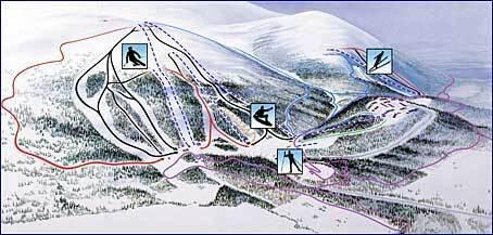 Gällivare Piste / Trail Map