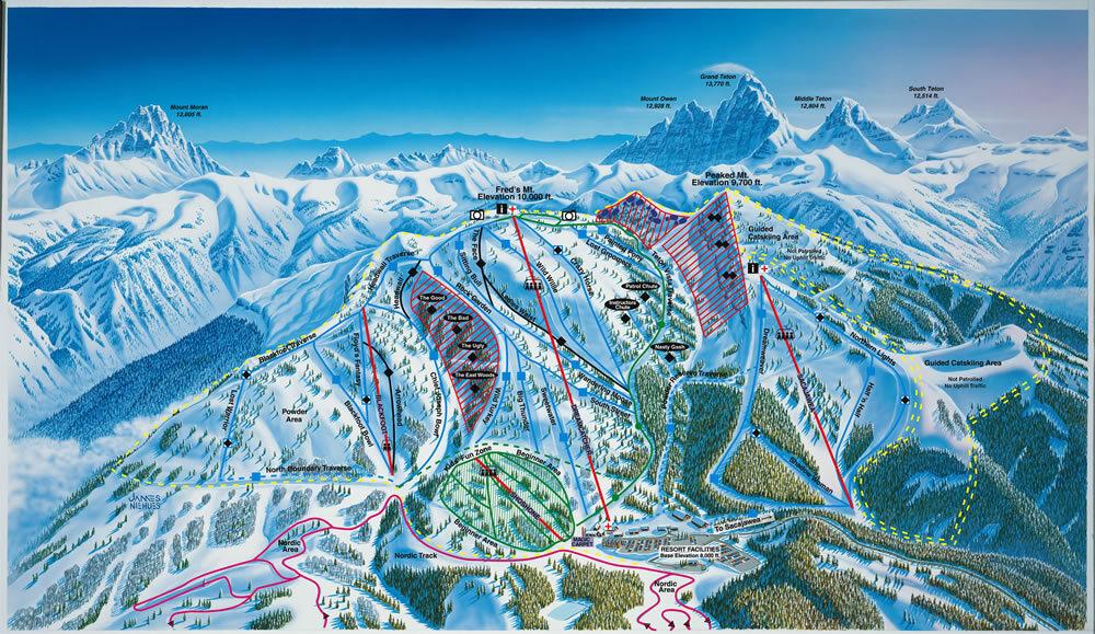 grand targhee ski resort guide, location map & grand targhee ski