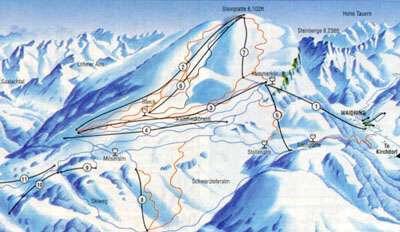 Kirchdorf Piste / Trail Map