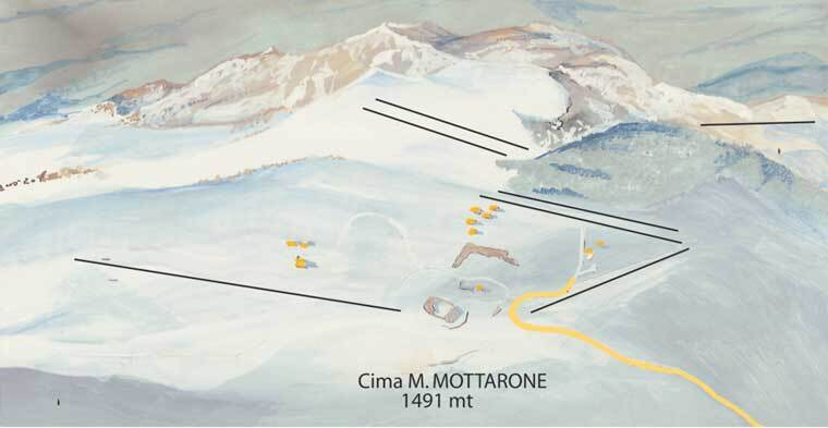 Mottarone Piste / Trail Map