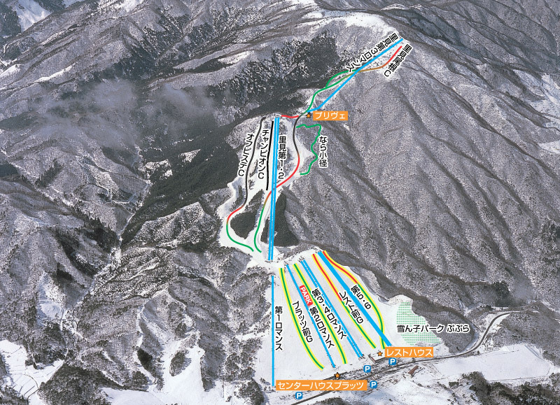 Osa Piste / Trail Map
