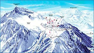 Piani Di Bobbio Valtorta Piste / Trail Map