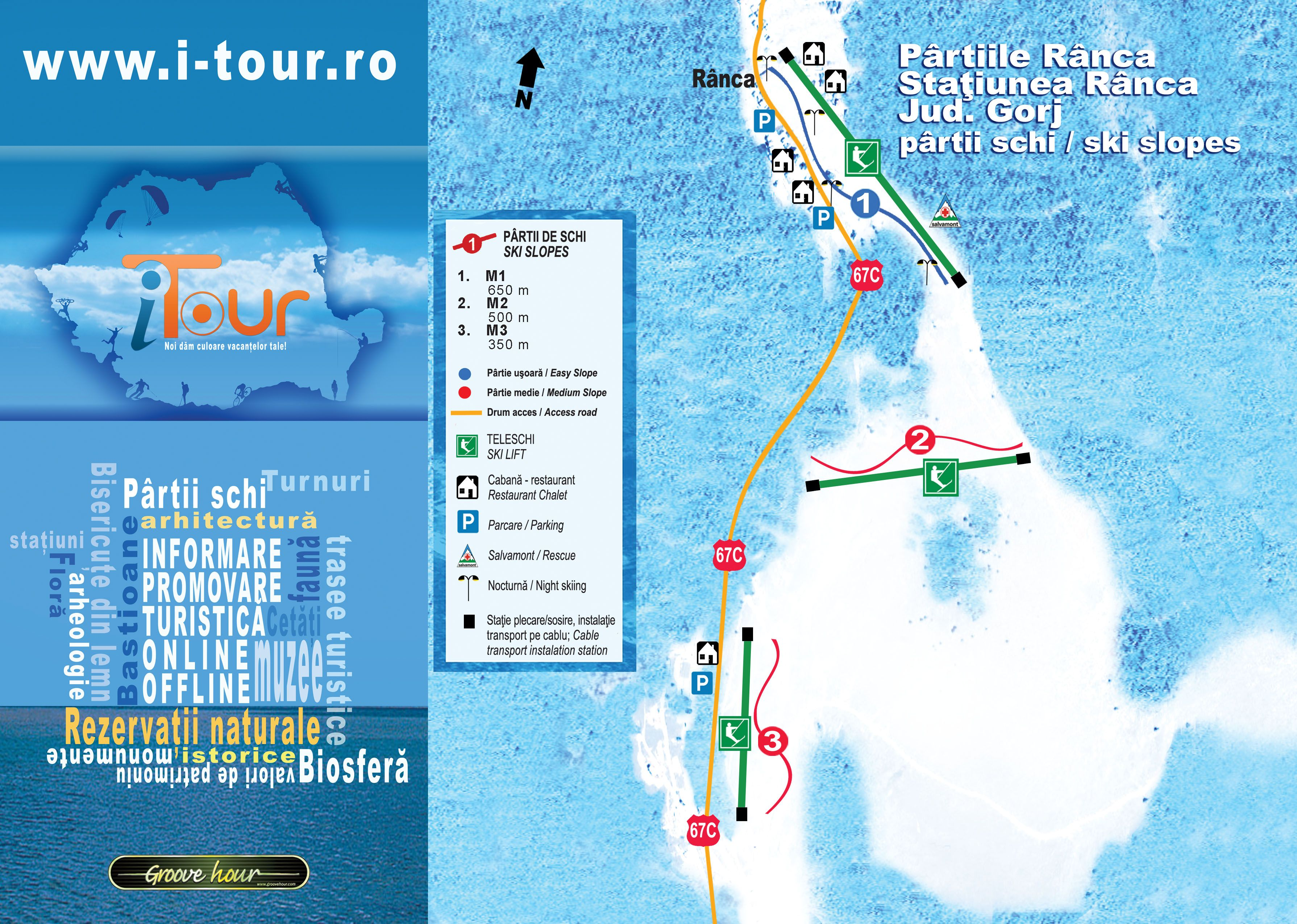 Ranca Piste / Trail Map