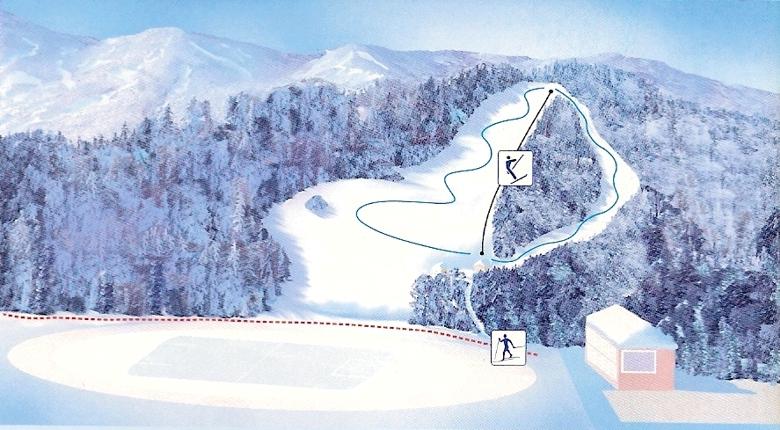 Ravne na Koroškem Piste / Trail Map