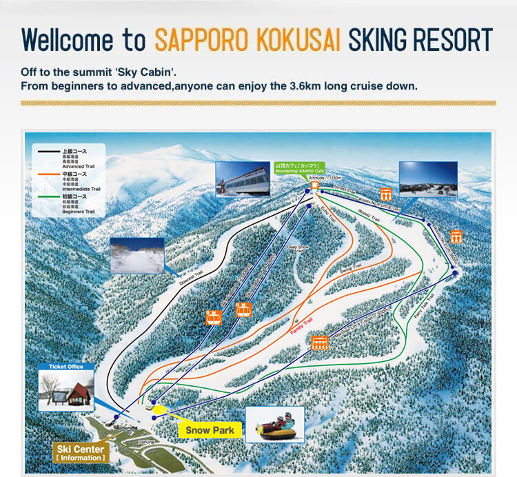 Image result for sapporo kokusai ski resort