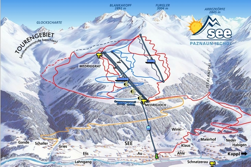See Piste / Trail Map