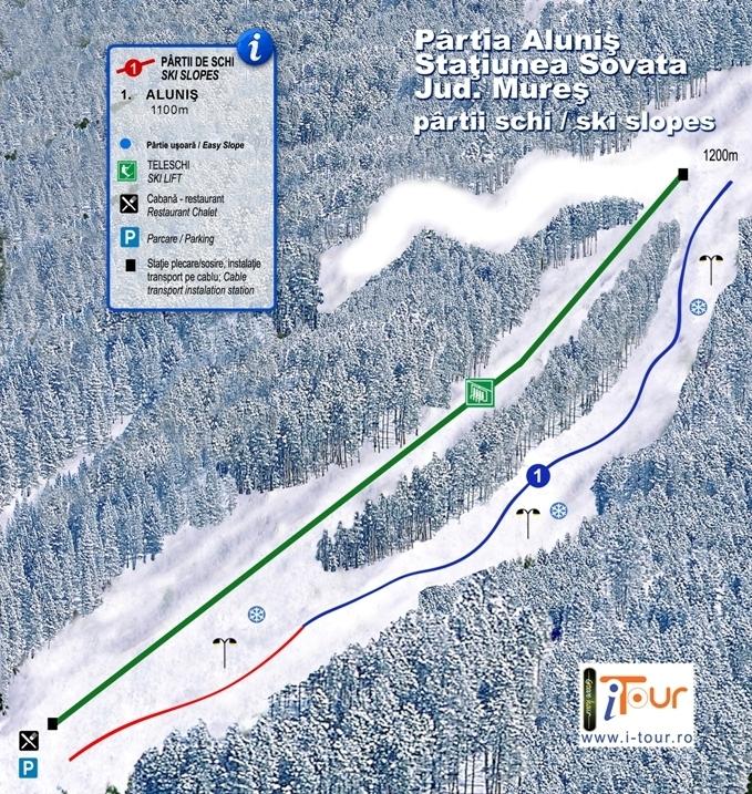 Sovata Piste / Trail Map