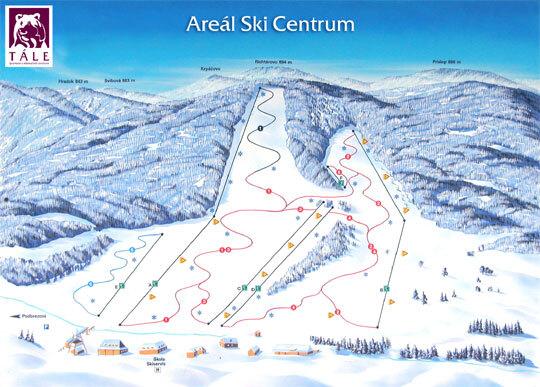 Tále Piste / Trail Map