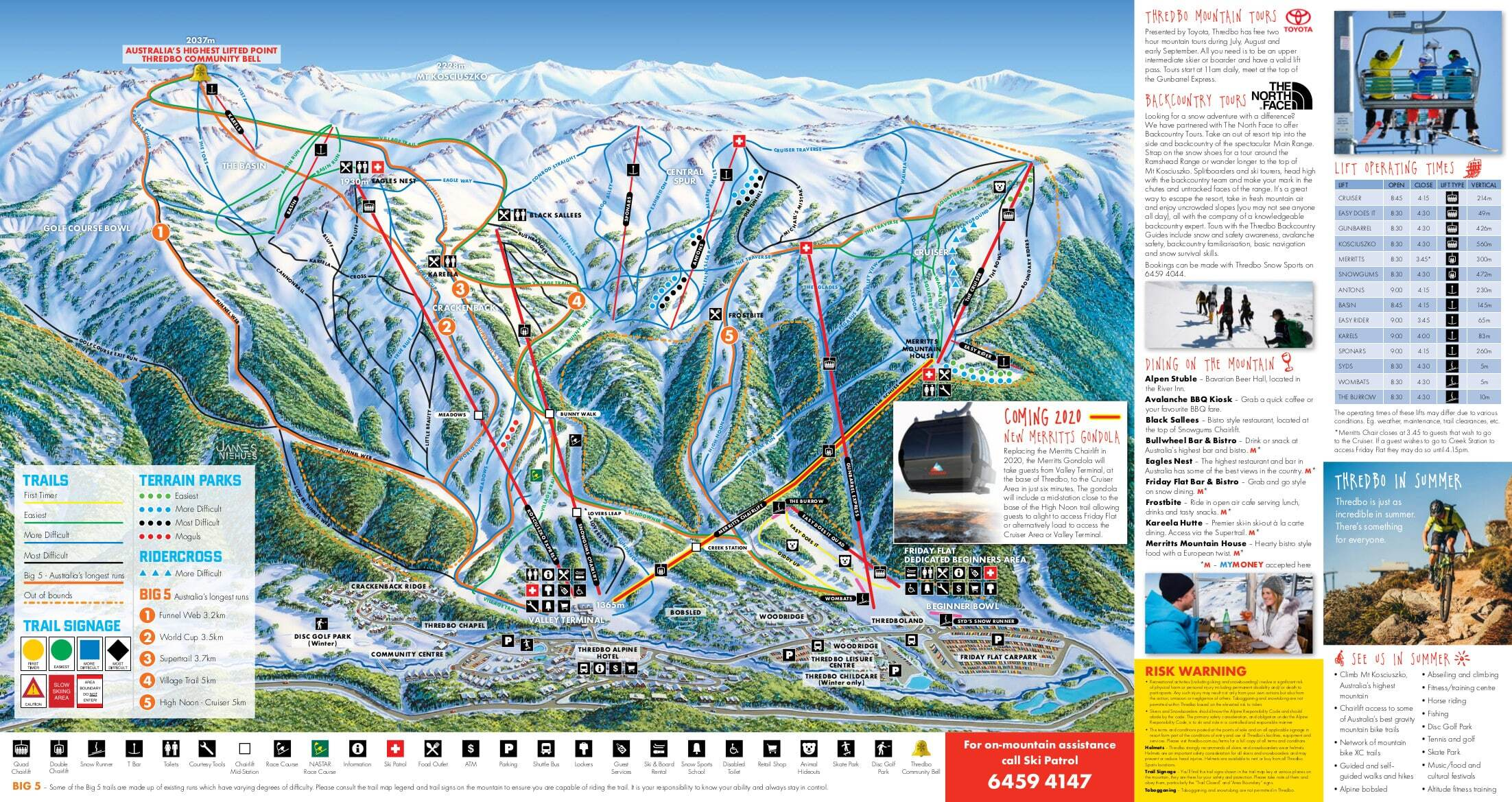 Thredbo Ski Resort Guide Location Map Thredbo Ski Holiday