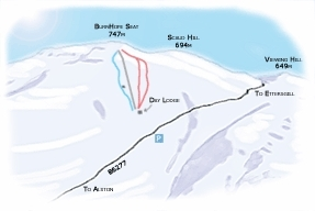 Yad Moss Piste / Trail Map