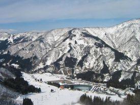 Hakusan Ichirino Onsen Ski Resort Guide, Location Map ...