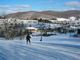 holiday valley ski report