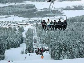 kungsberget karta Kungsberget Ski Resort Guide, Location Map & Kungsberget ski  kungsberget karta