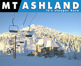 Ashland Montana Map.Mt Ashland Ski Resort Guide Location Map Mt Ashland Ski Holiday