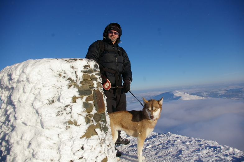 just me and my dog!, Snowdon