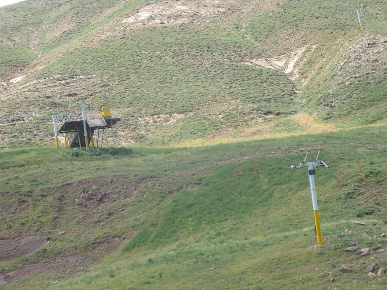 shemshak middle station & WALL(دیواره)