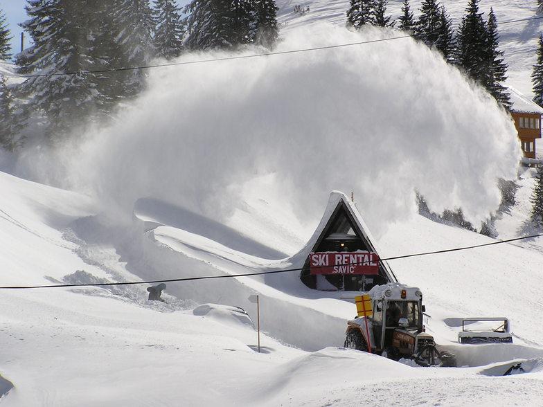 Huge snow, Jahorina