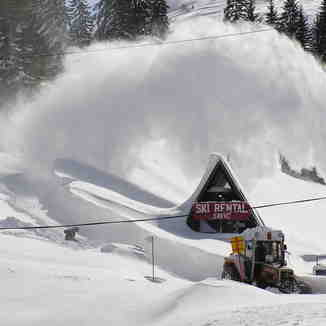 Huge snow, Jahorina