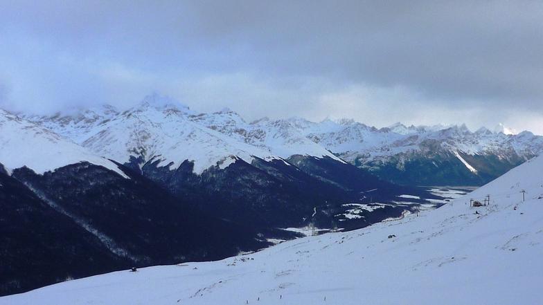 """03 de julio, vista desde """"El Zorro"""", Cerro Castor"""