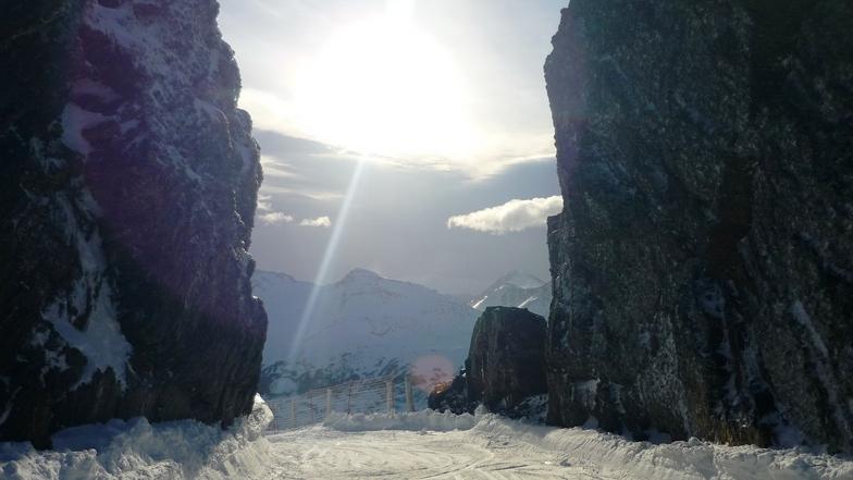 """Inicio de """"La Brecha"""", Cerro Castor"""