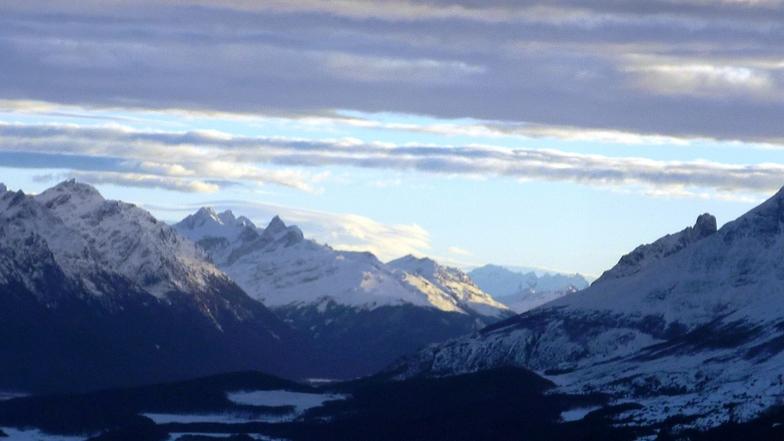 """vista desde """"Piedra Negra"""", Cerro Castor"""
