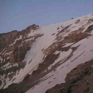 Yakhar  glacier, Mount Damavand